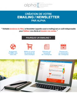 Alpha Emailing Newsletter