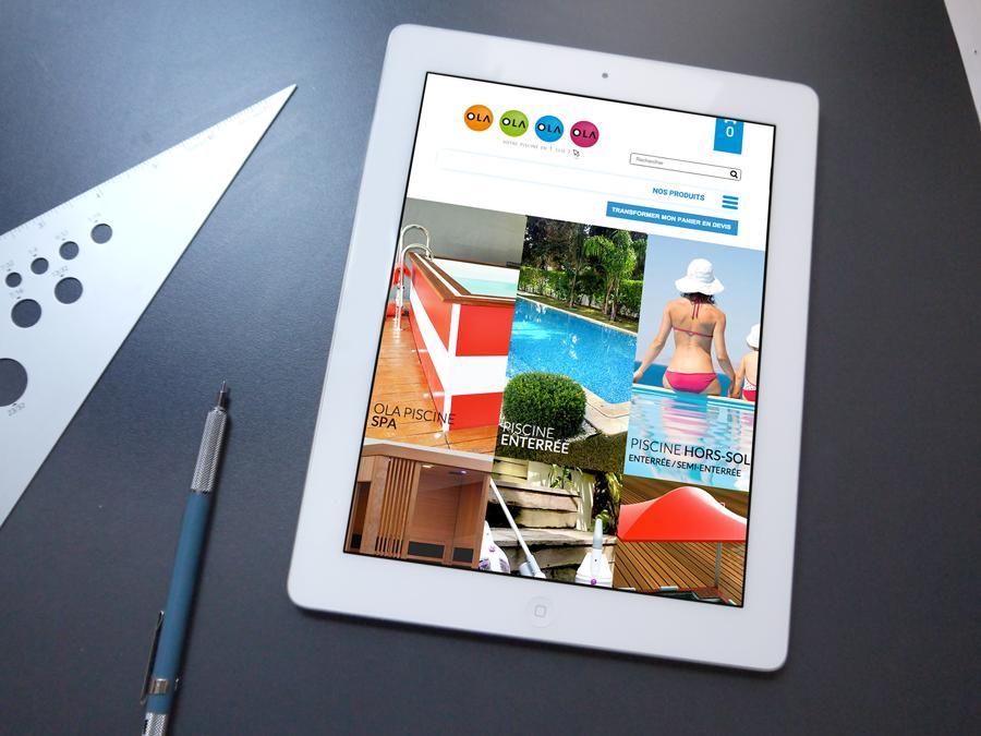 Tablette Site Web