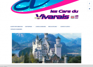 Site WordPress Cars du Vivarais