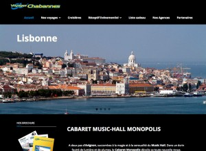 Site Internet WordPress Voyages Chabannes