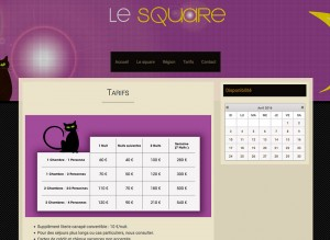Site WordPress Le Square