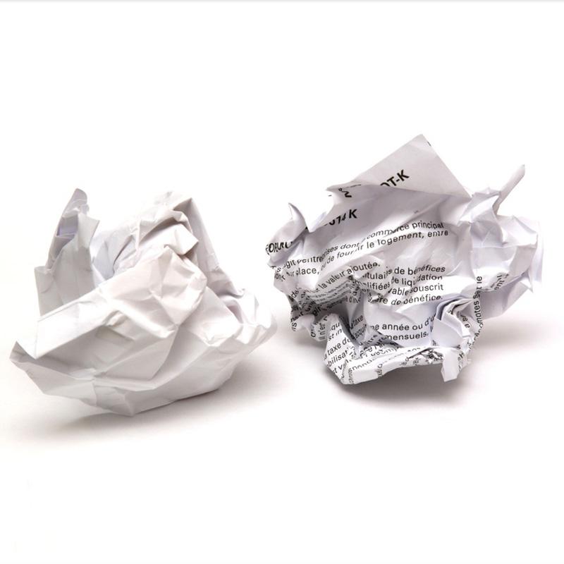 Recyclé du papier, oui mais…